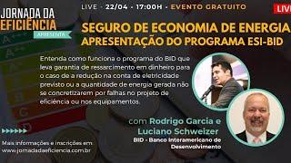 Seguro de Economia de Energia – Apresentação do Programa ESI-BID